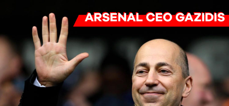 Arsenal CEO Gazidis joins Milan?