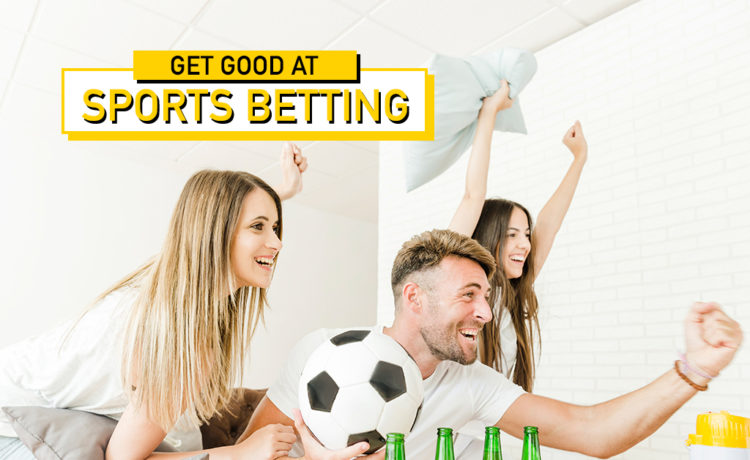 Newbie? Get good at sports betting and earn more!